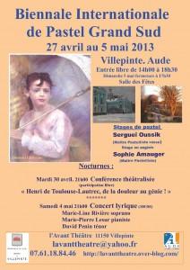 affiche biennale 2013